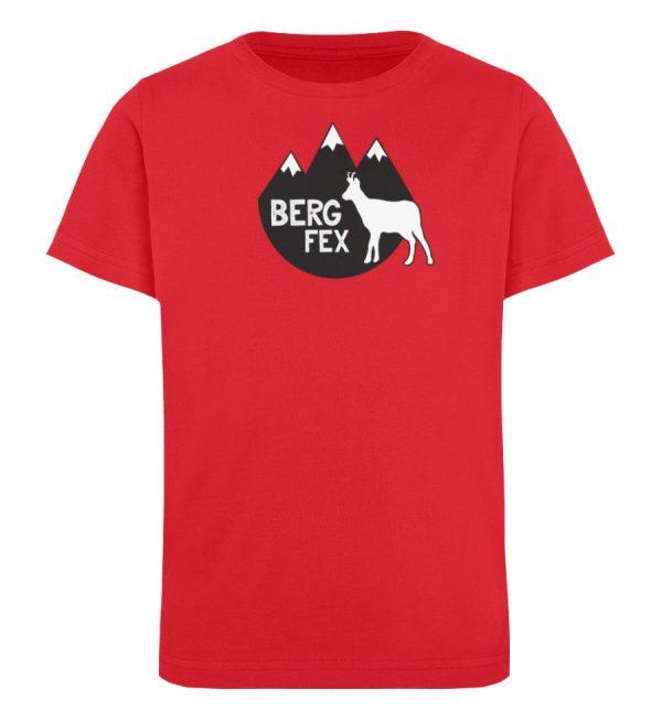 Bergfex Gämse Berg T-Shirt - Kinder Organic T-Shirt-6882