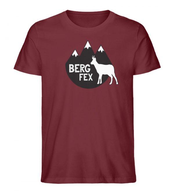 Bergfex Gämse Berg T-Shirt - Herren Premium Organic Shirt-6883