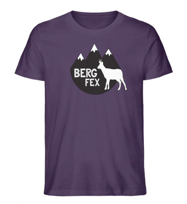 Bergfex Gämse Berg T-Shirt - Herren Premium Organic Shirt-6884
