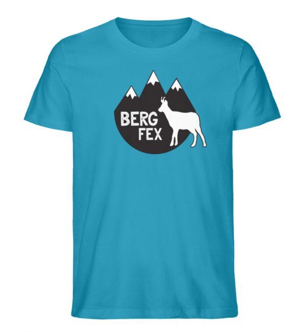 Bergfex Gämse Berg T-Shirt - Herren Premium Organic Shirt-6885