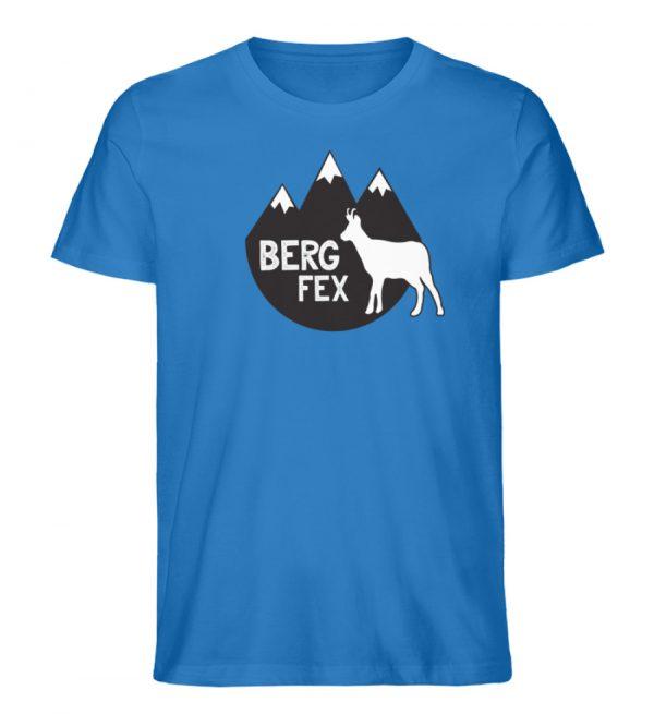 Bergfex Gämse Berg T-Shirt - Herren Premium Organic Shirt-6886