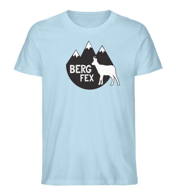 Bergfex Gämse Berg T-Shirt - Herren Premium Organic Shirt-6888