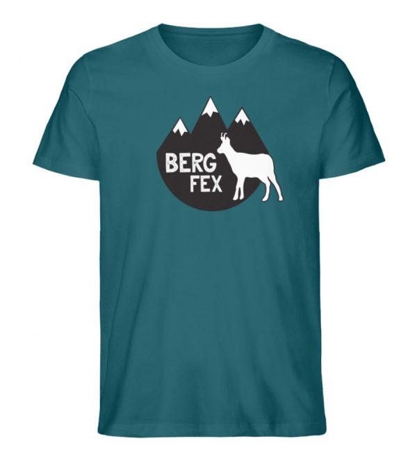 Bergfex Gämse Berg T-Shirt - Herren Premium Organic Shirt-6889