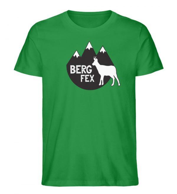 Bergfex Gämse Berg T-Shirt - Herren Premium Organic Shirt-6890