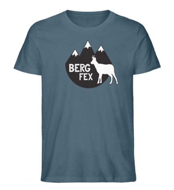 Bergfex Gämse Berg T-Shirt - Herren Premium Organic Shirt-6895