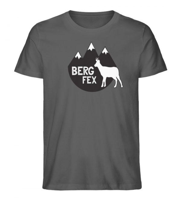 Bergfex Gämse Berg T-Shirt - Herren Premium Organic Shirt-6896