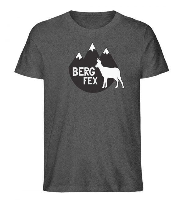 Bergfex Gämse Berg T-Shirt - Herren Premium Organic Shirt-6898