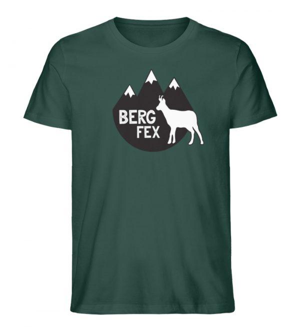 Bergfex Gämse Berg T-Shirt - Herren Premium Organic Shirt-7112