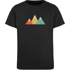 Berge Vintage - Kinder Organic T-Shirt-16