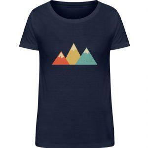 Berge Vintage - Damen Organic Shirt-6887