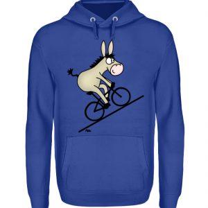 Lustiges T-Shirt - Drahtesel - Geschenkidee Mountain Bike Bergrad Shirt - Unisex Kapuzenpullover Hoodie-668