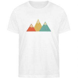 Berge Vintage - Herren Organic Shirt-3