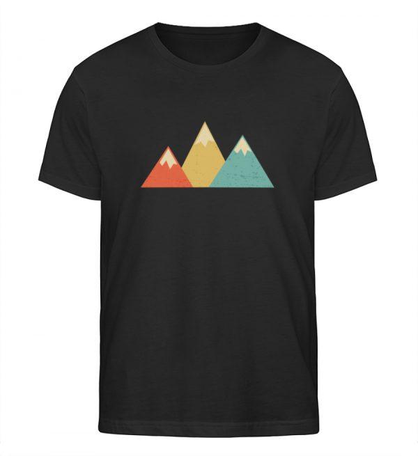 Berge Vintage - Herren Organic Shirt-16