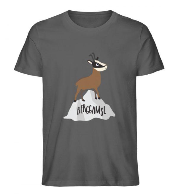 Berg Gemse Gämse Gams - Herren Premium Organic Shirt-6896