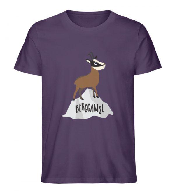 Berg Gemse Gämse Gams - Herren Premium Organic Shirt-6884