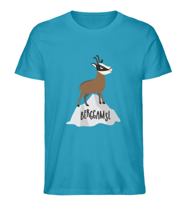 Berg Gemse Gämse Gams - Herren Premium Organic Shirt-6885