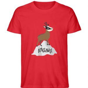 Berg Gemse Gämse Gams - Herren Premium Organic Shirt-6882