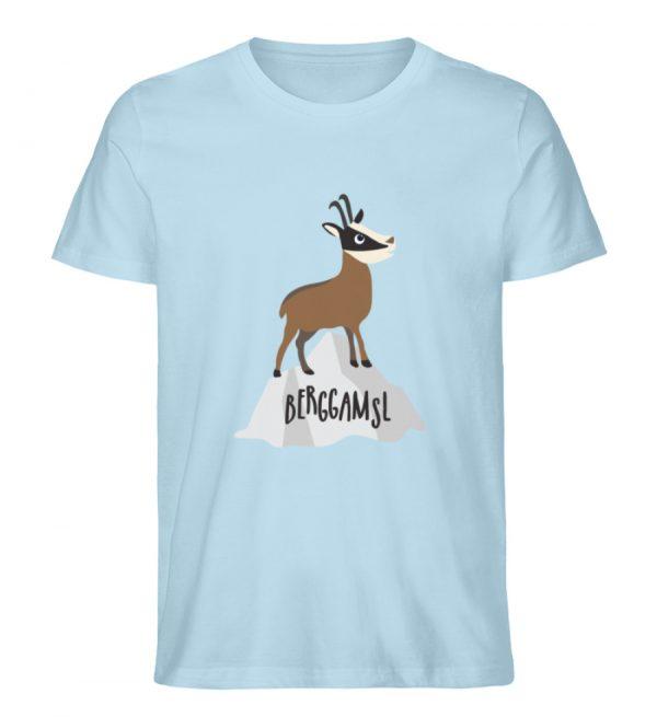 Berg Gemse Gämse Gams - Herren Premium Organic Shirt-6888