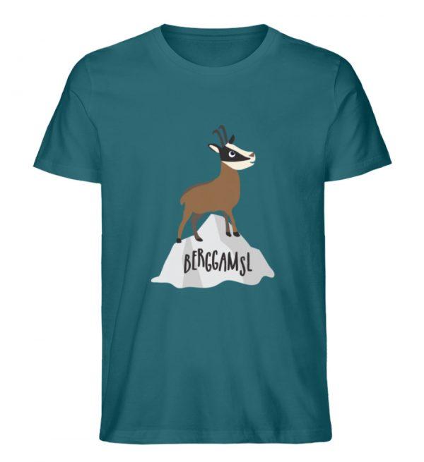 Berg Gemse Gämse Gams - Herren Premium Organic Shirt-6889