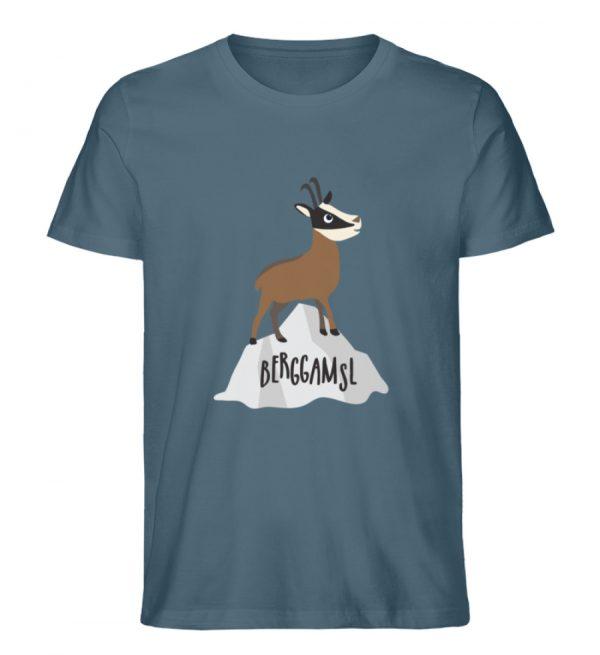 Berg Gemse Gämse Gams - Herren Premium Organic Shirt-6895