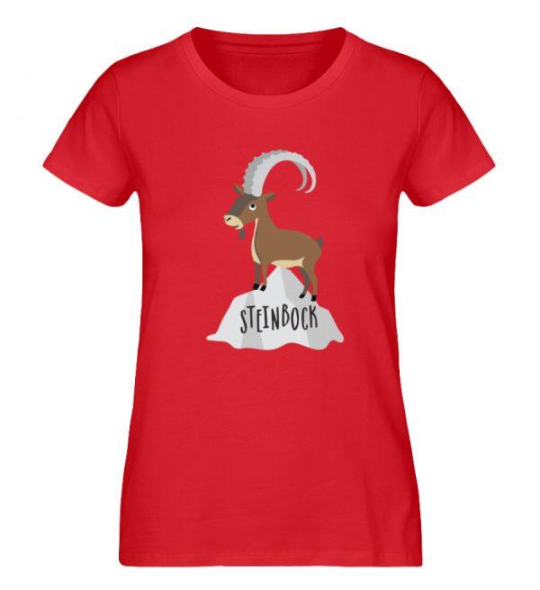 Steinbock - Damen Premium Organic Shirt-6882