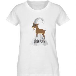 Steinbock - Damen Premium Organic Shirt-3