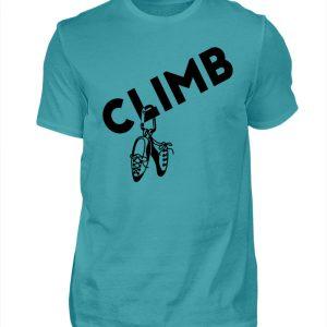 Climb - Kletterschuhe Kletter T-Shirt - Herren Shirt-1242