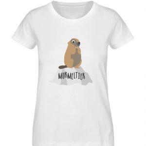Murmeltier - Damen Premium Organic Shirt-3