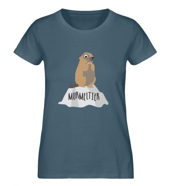 Murmeltier - Damen Premium Organic Shirt-6895