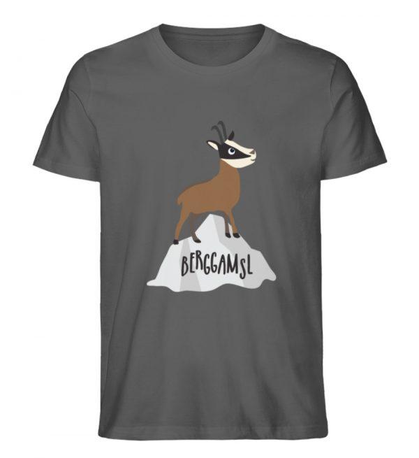 Gams Gemse Gämse Berggamsl Berggams - Herren Premium Organic Shirt-6896