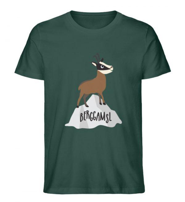 Gams Gemse Gämse Berggamsl Berggams - Herren Premium Organic Shirt-7112