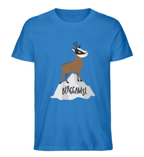Gams Gemse Gämse Berggamsl Berggams - Herren Premium Organic Shirt-6886