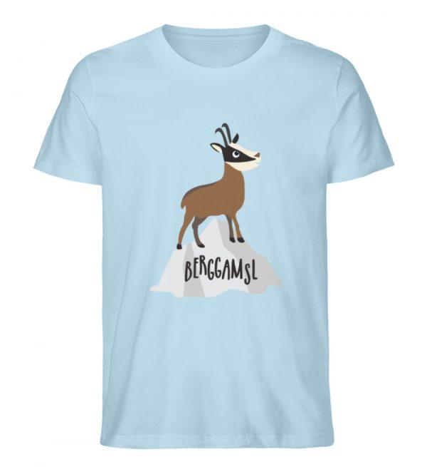 Gams Gemse Gämse Berggamsl Berggams - Herren Premium Organic Shirt-6888