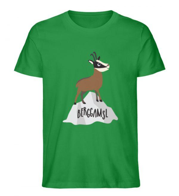 Gams Gemse Gämse Berggamsl Berggams - Herren Premium Organic Shirt-6890