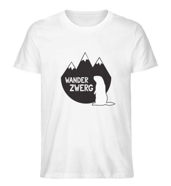 Wanderzwerg - Herren Premium Organic Shirt-3