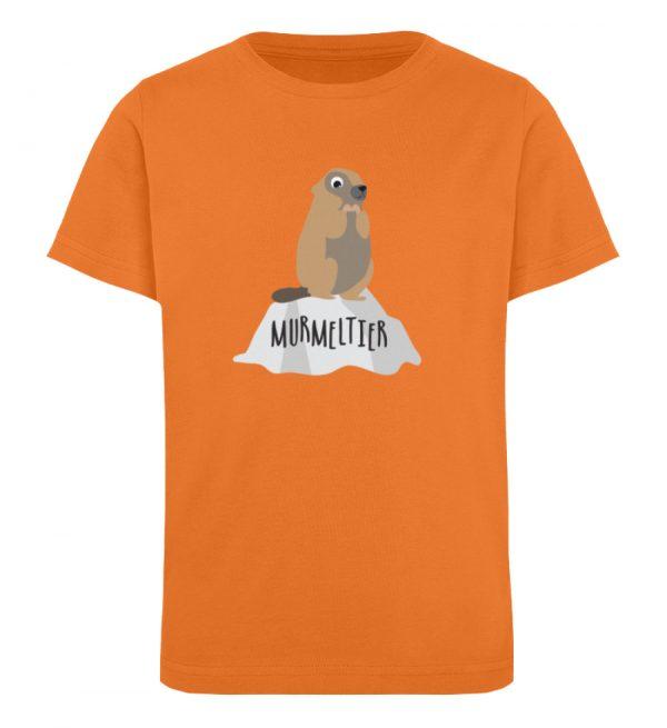 Murmeltier - Kinder Organic T-Shirt-6902