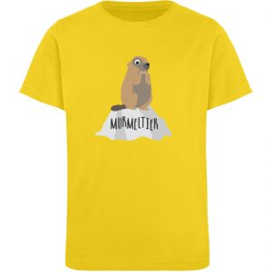 Murmeltier - Kinder Organic T-Shirt-6905