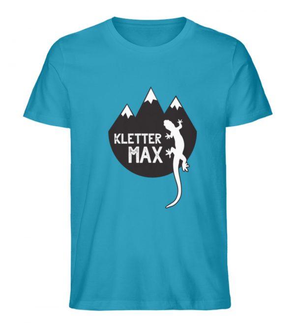 Klettermax Gecko Salamander Klettern - Herren Premium Organic Shirt-6885