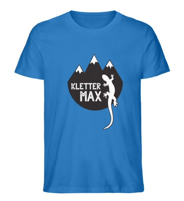 Klettermax Gecko Salamander Klettern - Herren Premium Organic Shirt-6886