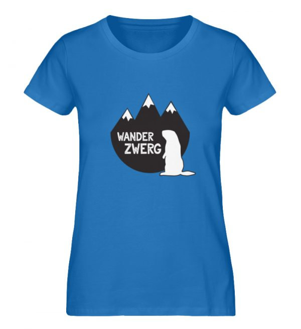 Wanderzwerg - Damen Premium Organic Shirt-6886