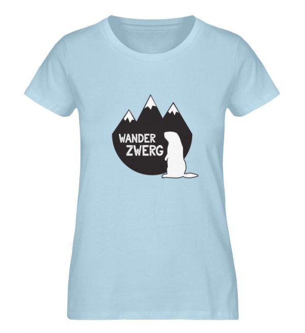 Wanderzwerg - Damen Premium Organic Shirt-6888
