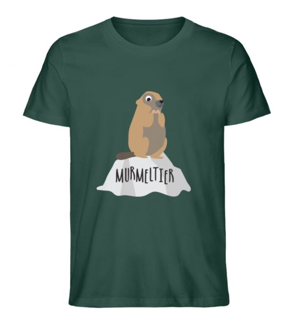 Murmeltier - Herren Premium Organic Shirt-7112