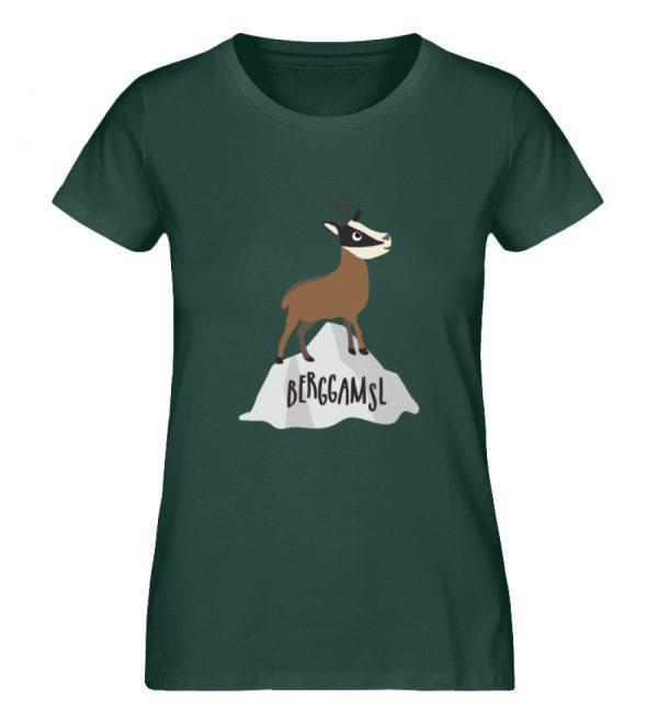 Gams Gemse Gämse Berggamsl Berggams - Damen Premium Organic Shirt-7112