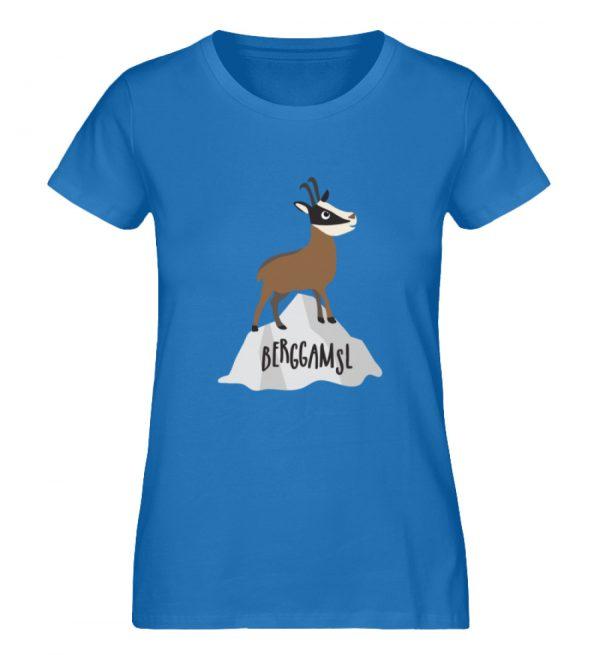 Gams Gemse Gämse Berggamsl Berggams - Damen Premium Organic Shirt-6886