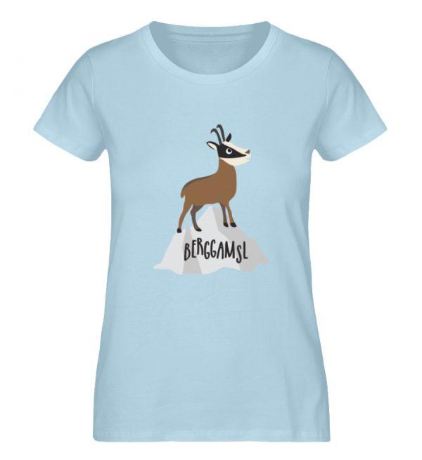 Gams Gemse Gämse Berggamsl Berggams - Damen Premium Organic Shirt-6888
