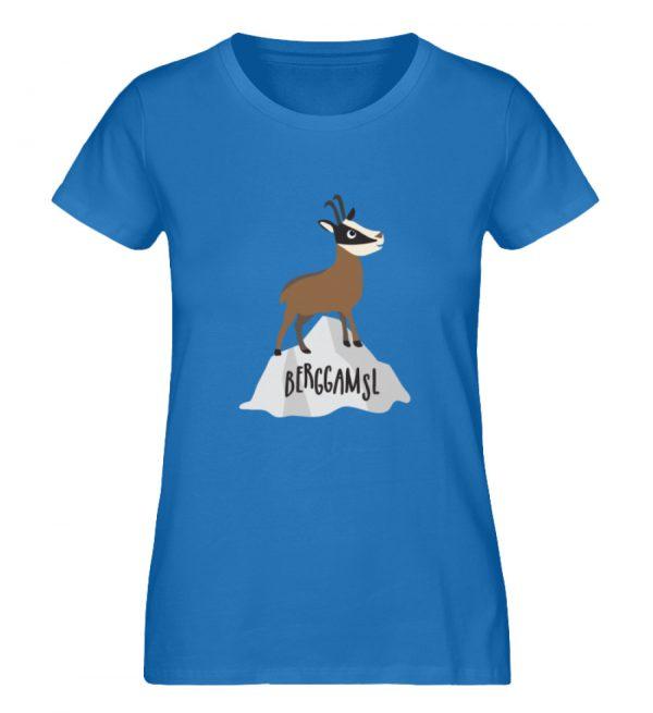 Berg Gemse Gämse Gams - Damen Premium Organic Shirt-6886