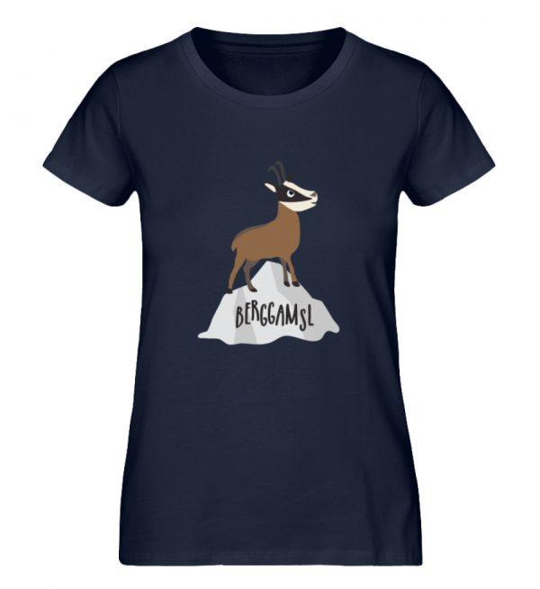 Berg Gemse Gämse Gams - Damen Premium Organic Shirt-6887