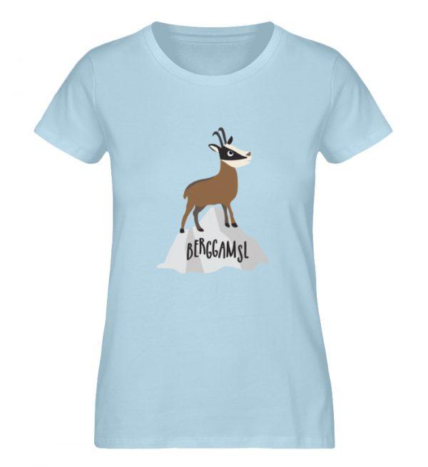 Berg Gemse Gämse Gams - Damen Premium Organic Shirt-6888