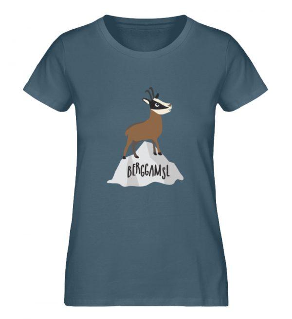 Berg Gemse Gämse Gams - Damen Premium Organic Shirt-6895