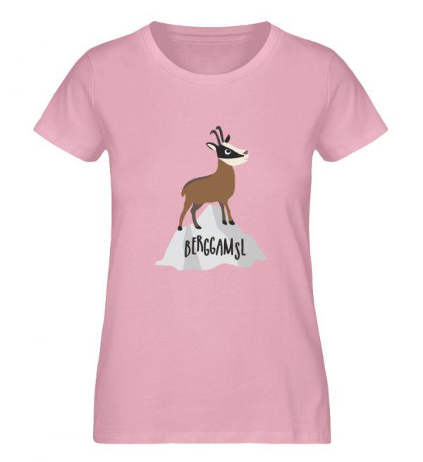 Berg Gemse Gämse Gams - Damen Premium Organic Shirt-6903